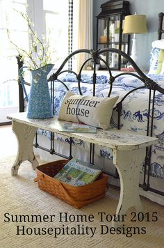 Summer Home Tour 2015 -Housepitality Designs #bHometour Come by for the style & enter to win a $200 Painted Fox Gift Card