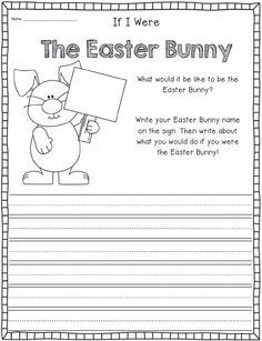 Eggcellent Easter writing/literacy printables! $