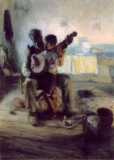 The Banjo Lesson. Henry Ossawa Tanner.
