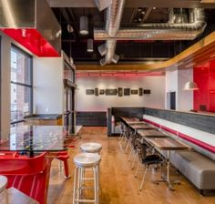 Mile-High Style | VMSD.com - Quiznos brings a revamped look to Denver with its elevated fast-casual concept