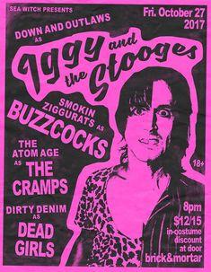 「the stooges live flyer