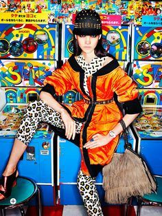 Isabella Melo Lensed By Troyt Coburn In 'Street Art' For Marie Claire Australia October 2013