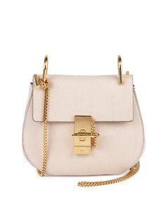 $1750.00 Drew Small Chain Shoulder Bag, Off White - Chloe #fashion #bag #chloe