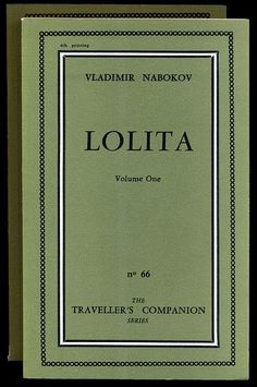 "One of my favorites from ""Covering Lolita.""  I'm not particularly interested in collecting first editions, but I'd love a copy of this one!  I like the academic aesthetic of it, too.  (1955 FR Olympia Press, Paris.)"