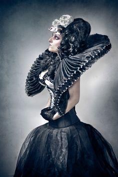 Photographer: Dennis Ziliotto Stylist/Makeup/Model: Roberta Pazzesque Garbin