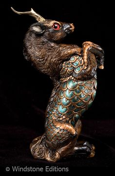 Turquoise and copper Kirin by *Reptangle on deviantART