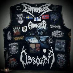Dossmo's Dismember, Obscura, Fallujah, Updated Kutte Battle Jacket | TShirtSlayer