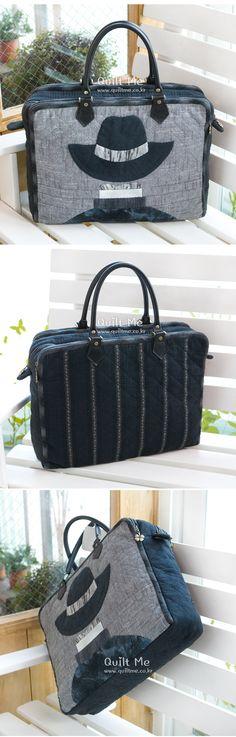 [신사의 수납장 토트백] Japanese Bag, Japanese Fabric, Patchwork Bags, Quilted Bag, O Bag, Mk Handbags, Handmade Purses, Old Jeans, Denim Bag