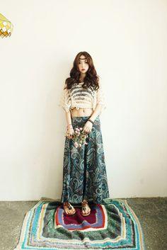 Paisley Summer Top / Skirt
