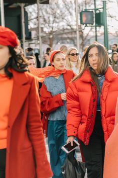 Oda al rojo en las calles de Nueva York