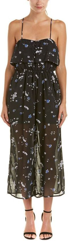 Lucca Couture Floral Jumpsuit