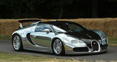 wanttt a Bugatti... like driving a rocket loves the chrome too