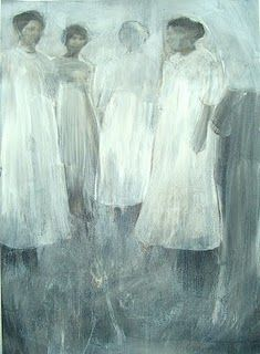 Ronald Ceuppens. This painting is haunting...