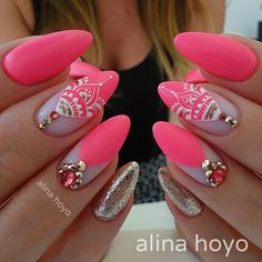 Beautiful nails by ✨Ugly Duckling Nails page is dedicated to promoting quality, inspirational nails created by… Gorgeous Nails, Love Nails, Pink Nails, Pastel Nail, Modern Nails, Pretty Nail Art, New Nail Art, Nails Inc, Art Nails