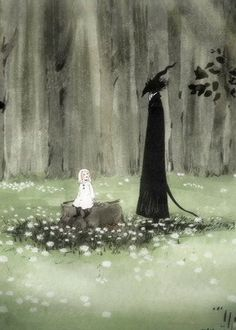 The Girl From the Other Side: Siuil, a Run OVA anime info and recommendations. In a world split between the Inside and the Outsid. Arte Horror, Horror Art, Aesthetic Art, Aesthetic Anime, Arte Peculiar, Satanic Art, Arte Obscura, Dark Art Drawings, Creepy Art