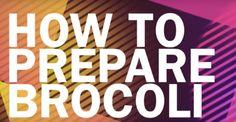 how to prepare broccoli rabe video