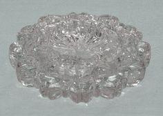 Set of 3 Nesting Glass Ashtrays  $20