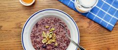 Start the day off right with this protein-packed quinoa oatmeal recipe that combines two of our favorite pantry staples into one healthy breakfast!