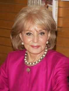 Barbara Walters does a lot with thinning hair.