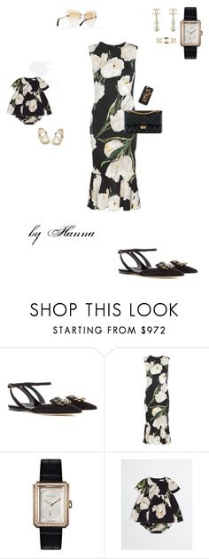 """1424"" by hannitach ❤ liked on Polyvore featuring Dolce&Gabbana, Chanel and hannasali"