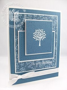 Stampin up trendy trees
