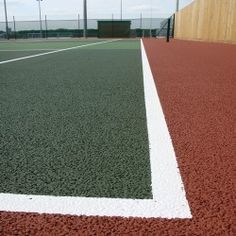 Chemical moss and algae treatment in Gellideg 1 is part of tennis court maintenance and are carried regularly to ensure the surfaces stay safe and up to standards. Tennis, Surface, Sports Court, Pitch, Games, Trainers, Game, Playing Games, Gaming