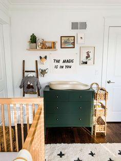 Baby Room Design, Nursery Design, Baby Room Decor, Nursery Room, Nursery Furniture, Rustic Nursery, Nursery Neutral, Woodland Nursery, Vintage Nursery