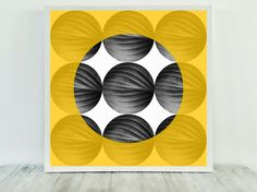 Mustard Yellow Decor, Gold Office Artwork, Amber Wall Hanging, Black White Print, Yellow Printable Art, Last Minute Gift, Mustard Print Art by CristylClear on Etsy