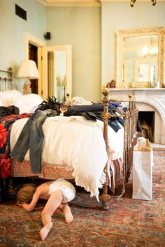 Tour a Famed Hotelier's Charming Family Home via @domainehome