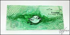 Szafranowe Twory: intensywnie zielonowiosenny sTworek!