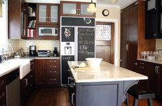 KitchenLab - traditional - kitchen - chicago - Rebekah Zaveloff | KitchenLab custard glaze