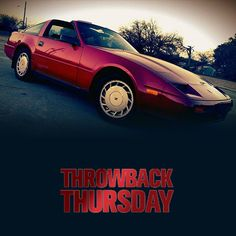 THROWBACK THURSDAY LITTLE RED 1988 NISSAN 300ZX: Posted by Taylor D.
