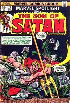 Marvel Spotlight #19 cover by Gil Kane