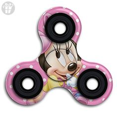 BROOKE LEWIS Fidget Spinner Disney Minnie Mouse Fidget Toy Ultra Durable Hand Toy For Kids Adults Perfect For Stress Reducer Relieve Anxiety ADD ADHD - Fidget spinner (*Amazon Partner-Link)