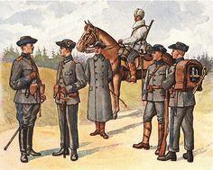 Swedish uniform the first general-issue standard uniform system.