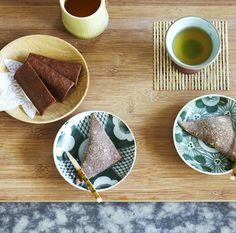 """Local Kyoto treat - RECIPE for Yatsuhashi (Cinnamon And Rice Flour Confectionery) - ps - Please """"FOLLOW ME"""" on EATLOVE"""