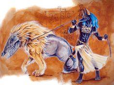 Undead ammit ✪ | Egipt Anúbis e Ammit |