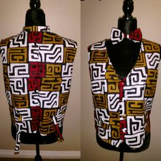 African Fabric, Vest, Shopping