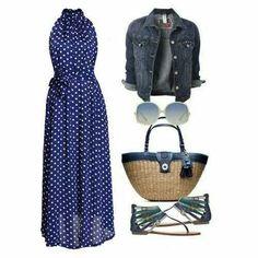 Beach wear (summer outfit)