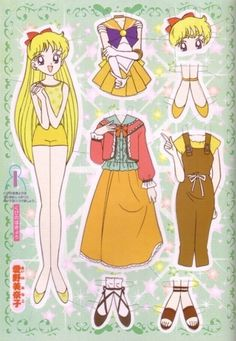 I remember paper dolls from way back when! They used to be fun! I can't imagine it being fun now though! But it used to be!