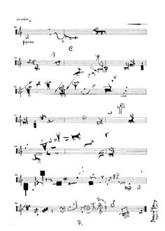 'Animali' for solo violin (2011) by David Young.