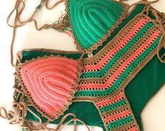 Crochet Short Stripe