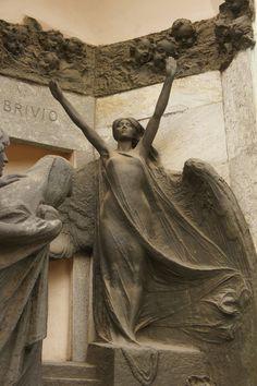 Milano Cimitero Monumentale, Milan, Italy