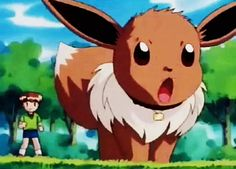 I've got an Eevee... his name is Jay and we bonded to the max