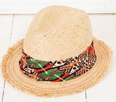 Spring Hats: Beach Bum fedora