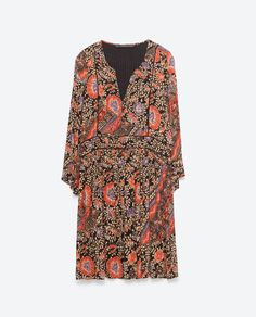 Image 8 of PRINTED DRESS from Zara