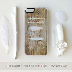 iPhone 5C Case Tribal iPhone 5s Case Feathers by HelloNutcase, $19.00