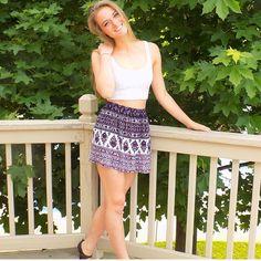 Pacsun summer skirts