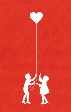 Love Balloon by Budi Satria Kwan