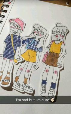 Art Inspiration Drawing, Sketchbook Inspiration, Character Design Inspiration, Art Inspo, Cute Art Styles, Cartoon Art Styles, Cool Art Drawings, Art Drawings Sketches, Arte Sharpie